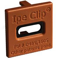 deckwise-IpeClip-HardwoodBrown-FrontView-96dpi